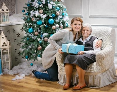 Celebrating Christmas with Your Aging Loved One in Carmichael, CA