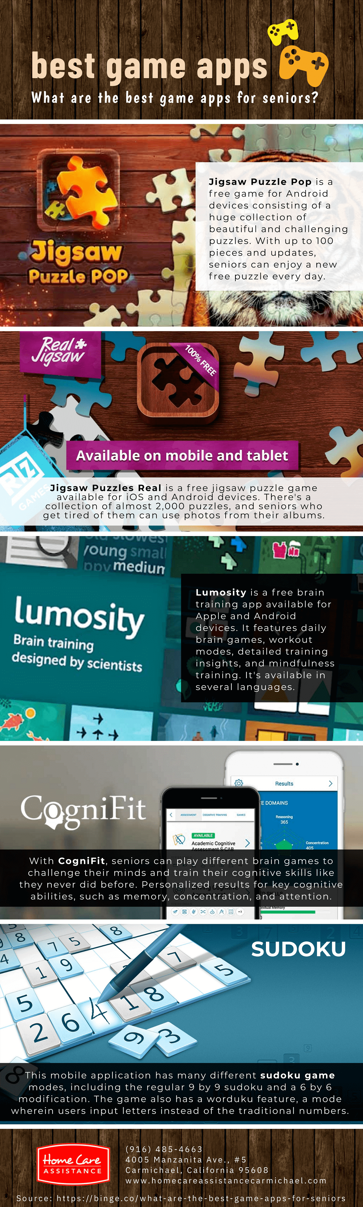 What Are Some of the Best Game Apps Seniors Can Use? [Infographic]
